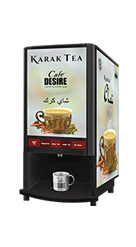 COFFEE TEA VENDING MACHINE MODEL - FOUR OPTION