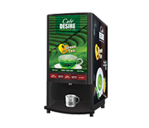 Cafe Desire Green Tea Vending Machine