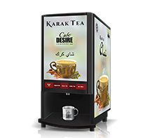 Cafe Desire Coffee and Tea Premix Vending Machine