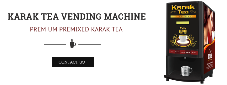 Cafe Desire Karak Chai and Coffee Vending Machine